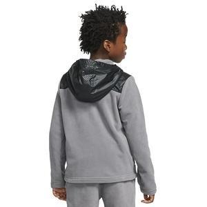 Hoodie Fz Winterized Çocuk Gri Günlük Stil Sweatshirt BV4506-056