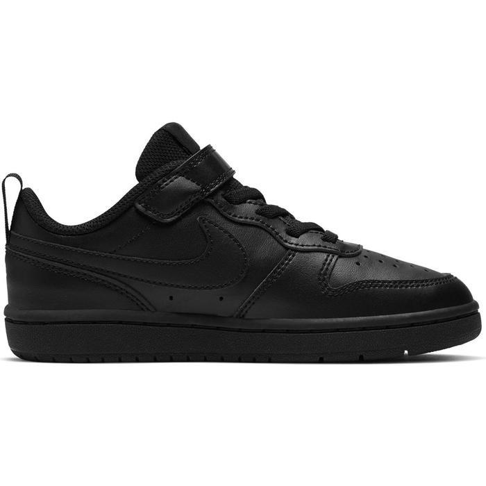 Court Borough Low 2 (Psv) Çocuk Siyah Günlük Ayakkabı BQ5451-001 1155101