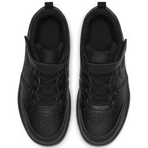 Court Borough Low 2 (Psv) Çocuk Siyah Günlük Ayakkabı BQ5451-001