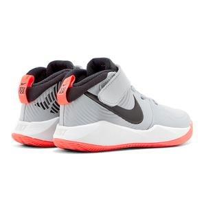 Team Hustle Çocuk Gri Basketbol Ayakkabısı AQ4225-007