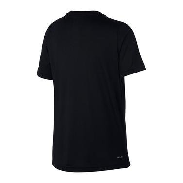 Dry Top Çocuk Siyah Antrenman Tişört AQ9554-011 1113882