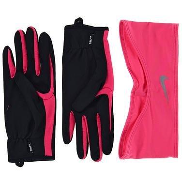 Running Kadın Pembe-Siyah Koşu Eldiven Ve Kafa Bandı Seti N.RC.03.067.MD 773086