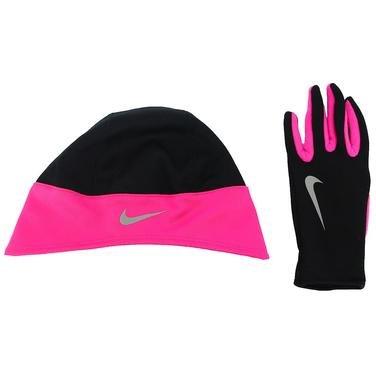 Running Kadın Siyah-Pembe Koşu Termal Eldiven Ve Kafa Bandı Seti - S N.RC.27.067.SL 798992