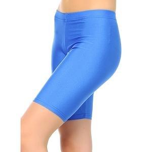 Kadın Mavi Kısa Tayt 6039501