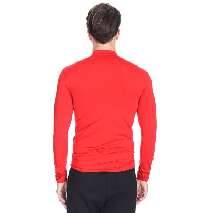 Erkek Kırmızı Uzun Kollu Boğazlı İçlik 0656513 716424