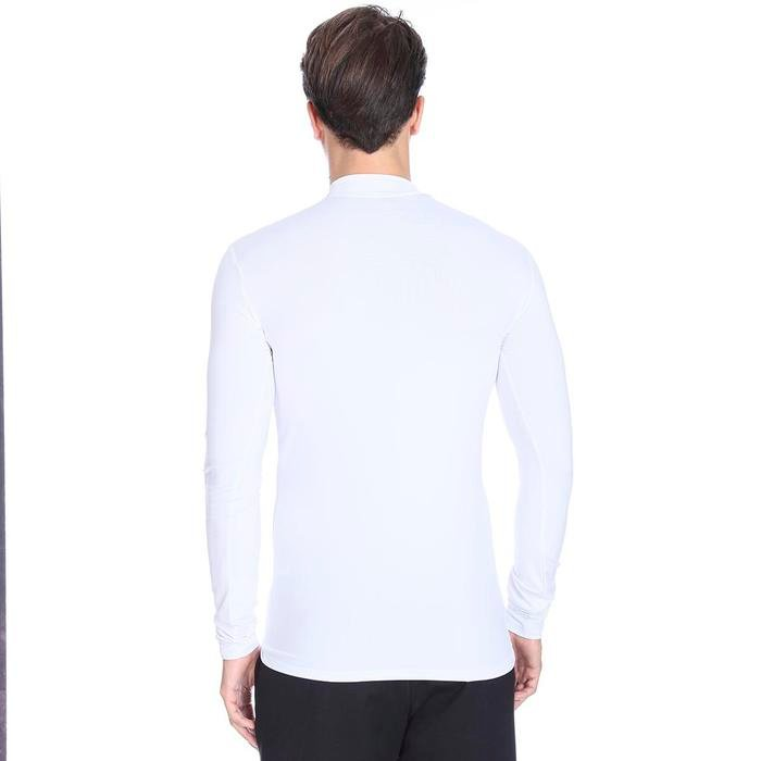 Erkek Beyaz Uzun Kollu Boğazlı İçlik 0656510 98776