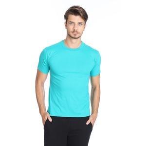 Basic Erkek Mavi Günlük Stil Tişört 060020021Y02