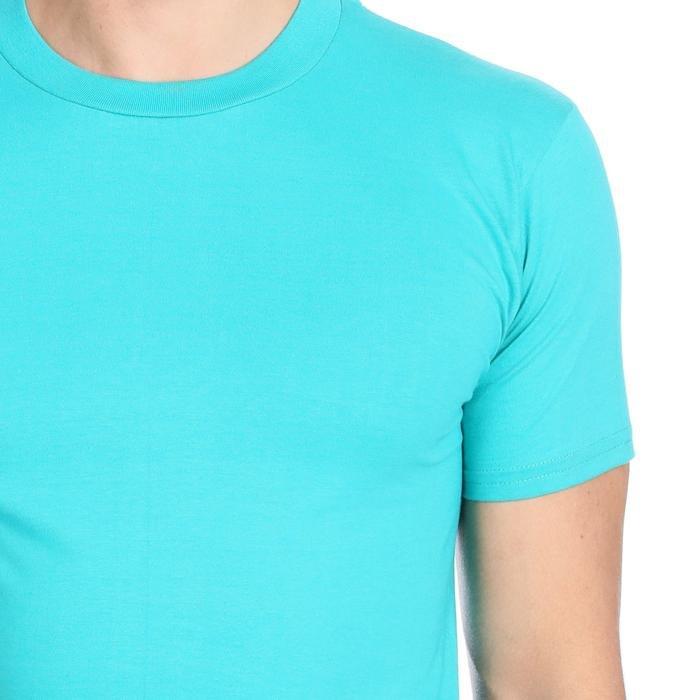 Basic Erkek Mavi Günlük Stil Tişört 060020021Y02 134758