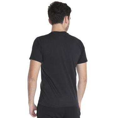 Basic Erkek Siyah Günlük Stil Tişört 060020021S01 95680