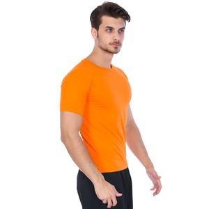 Basic Erkek Turuncu Günlük Stil Tişört 060020021TR5