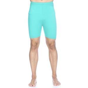 Erkek Mavi Kısa Tayt 6039522
