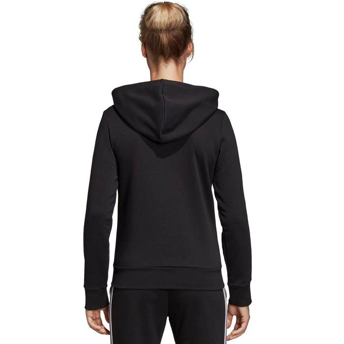 W E 3S Fz Kadın Siyah Kapüşonlu Ceket DP2419 1115204