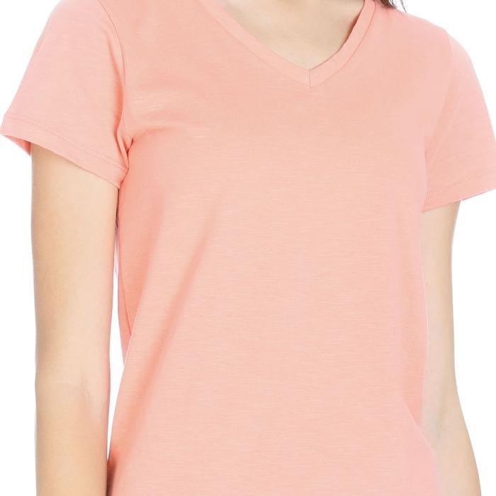 Flakestop Kadın Pembe Koşu Tişört 710180-PNK 1063761