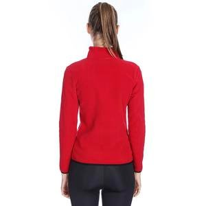 Kadın Kırmızı Polar Sweatshirt 710081-00C