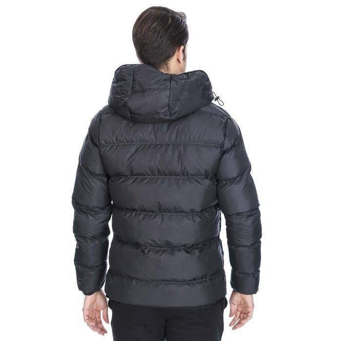 Erkek Siyah Kapüşonlu Outdoor Mont 710752-SYH 1111545