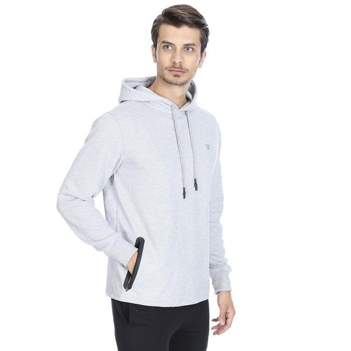 Sweateamust Erkek Gri Koşu Sweatshirt 710711-GML 1092908