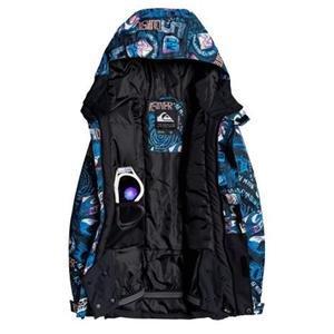 Çocuk Mavi Kayak Montu EQBTJ03101-KVJ7