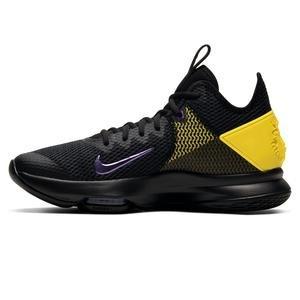 Lebron Witness 4 NBA Erkek Siyah Basketbol Ayakkabısı BV7427-004