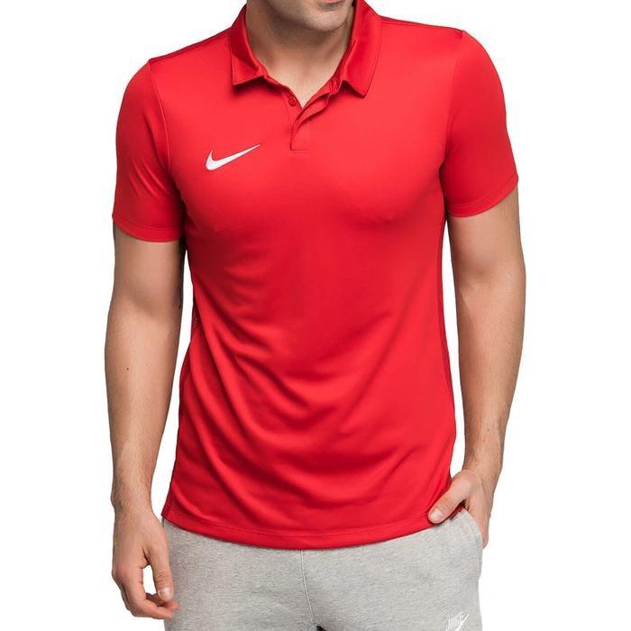 Dry Academy Erkek Kırmızı Futbol Polo Tişört 899984-657 1005331
