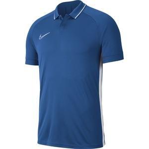 Dry Academy Erkek Mavi Futbol Polo Tişört BQ1496-404