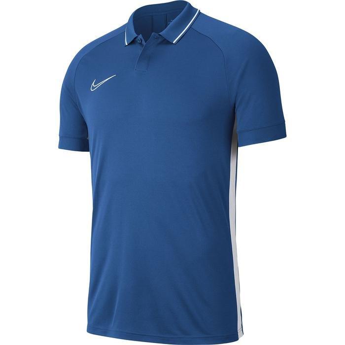 Dry Academy Erkek Mavi Futbol Polo Tişört BQ1496-404 1062243