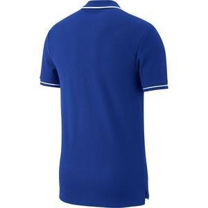 TClub19 Erkek Mavi Futbol Polo Tişört AJ1502-463