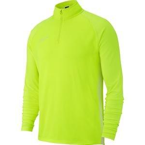 Dry Academy Erkek Yeşil Futbol Uzun Kollu Tişört AJ9094-702