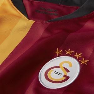 Galatasaray Parçalı Erkek Kırmızı Futbol Forma AJ5537-628