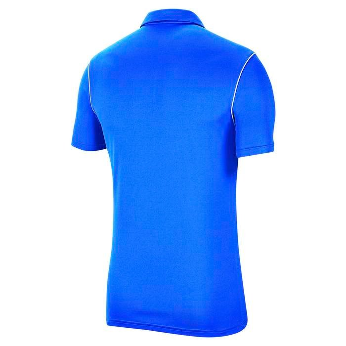 Dry Park Erkek Mavi Futbol Polo Tişört BV6879-463 1179607