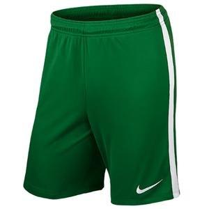 League Knit Erkek Yeşil Futbol Şort 725881-302