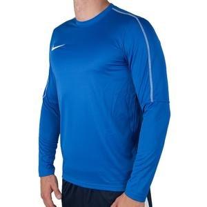 Dry Park Erkek Mavi Futbol Uzun Kollu Tişört AA2088-463