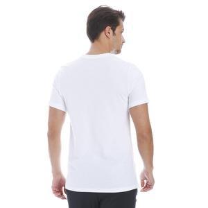 Brand Mark Erkek Beyaz Günlük Stil Tişört AR4993-100