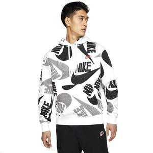 Sportswear Erkek Beyaz Günlük Stil Sweatshirt CJ6312-010