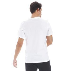 Just Do it Swoosh Erkek Beyaz Günlük Stil Tişört AR5006-100