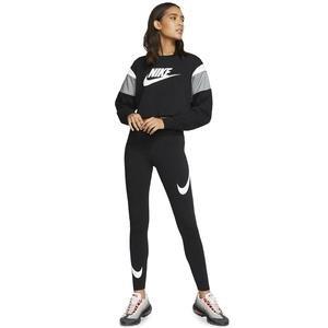 Sportswear Swoosh Leg-A-See Kadın Siyah Tayt CJ2655-013