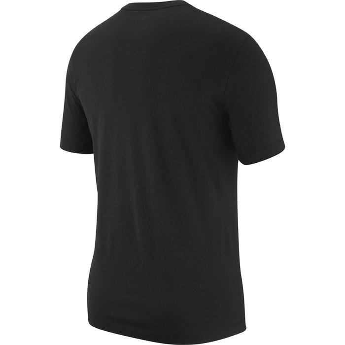 Just Do it Swoosh Erkek Siyah Günlük Stil Tişört AR5006-010 1060911