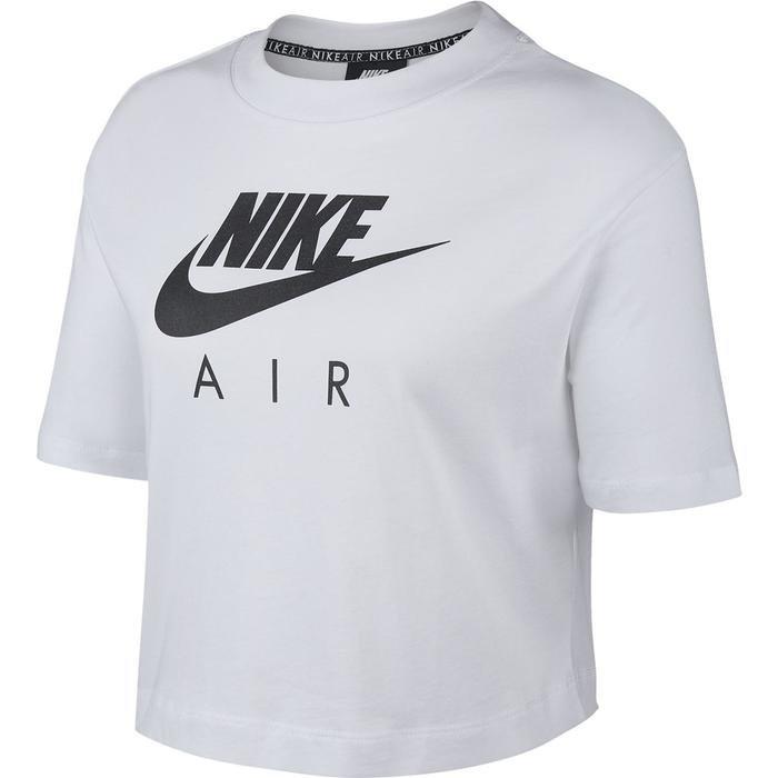 Air Top Kadın Beyaz Günlük Stil Tişört BV4777-100 1143322