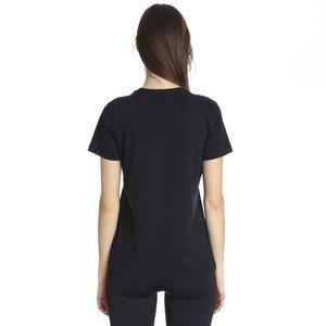 Essntl Icon Futur Kadın Siyah Günlük Stil Tişört BV6169-010
