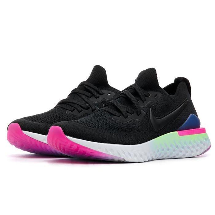Epic React Flyknit 2 Kadın Siyah Koşu Ayakkabısı BQ8927-003 1053455