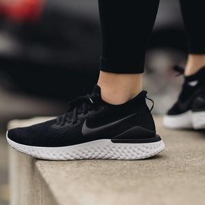 Epic React Flyknit 2 Kadın Siyah Koşu Ayakkabısı BQ8927-010