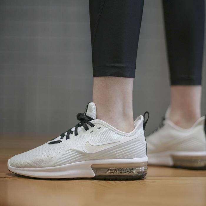 Air Max Sequent 4 Kadın Beyaz Günlük Ayakkabı AO4486-101 1051851