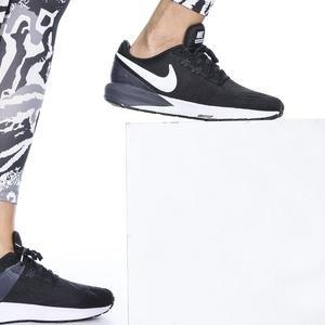 Air Zoom Structure 22 Kadın Siyah Koşu Ayakkabısı AA1640-002