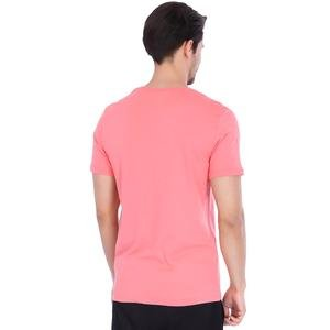 Basic Erkek Pembe Günlük Stil Tişört 710200-0MR