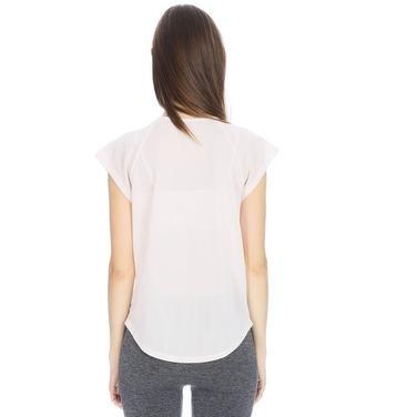 Kestoday Kadın Beyaz Koşu Tişört 710608-NDE 1063811