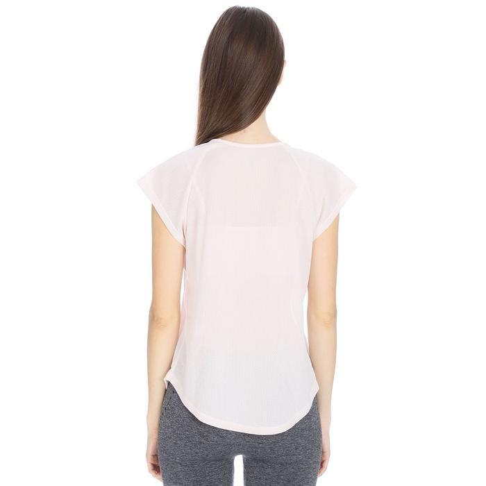 Kesweat Kadın Beyaz Koşu Tişört 710609-NDE 1063820