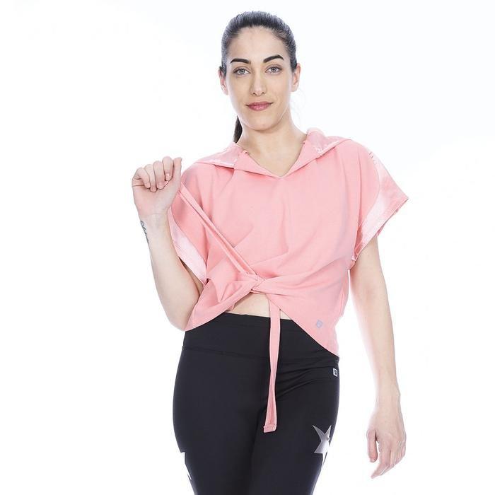 Satbagform Kadın Pembe Koşu Tişört 710618-PNK 1063925