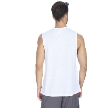 Flareal Erkek Beyaz Antrenman Atleti 710515-00W 1063495