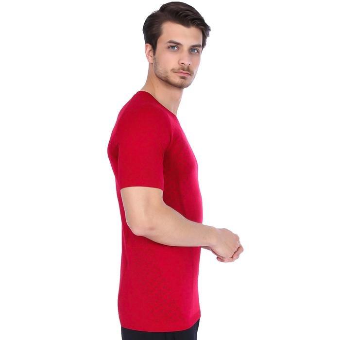 Seamanew Erkek Kirmizi Koşu Tişört 710385-0Ch 996379