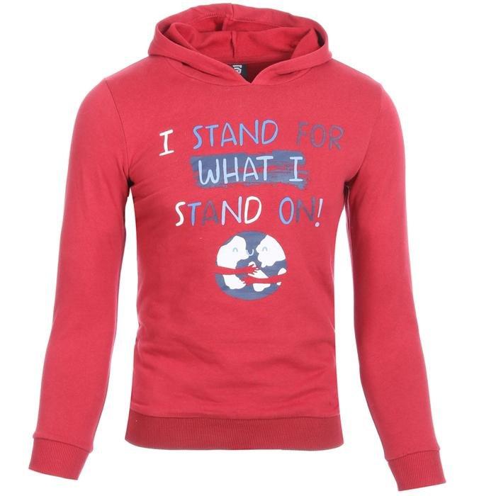 Boysweone Çocuk Kırmızı Koşu Sweatshirt B10001-BRD 1111638