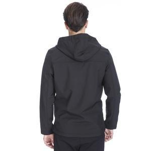 Erkek Siyah Kapüşonlu Outdoor Mont 710754-SYH